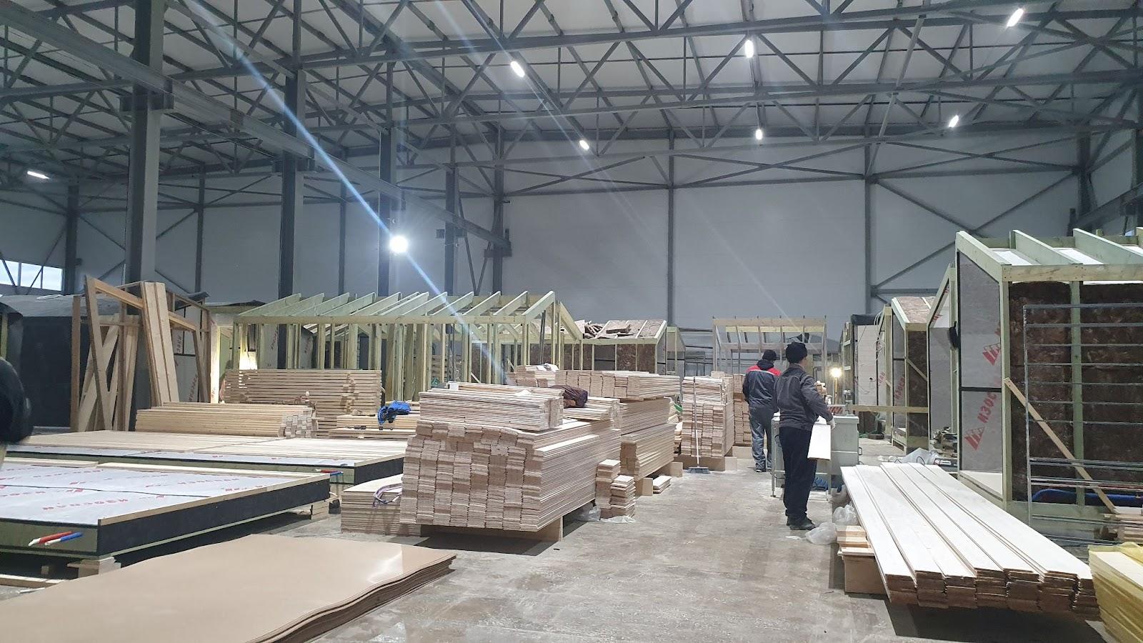 Производство модульных домов Heim project
